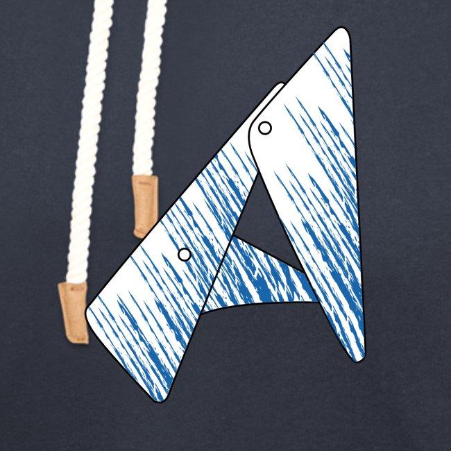 lettera astratta geometrica A