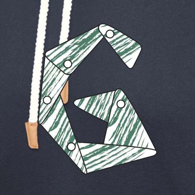 lettera G verde