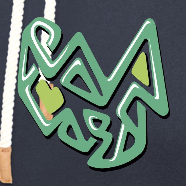 disegno astratto verde