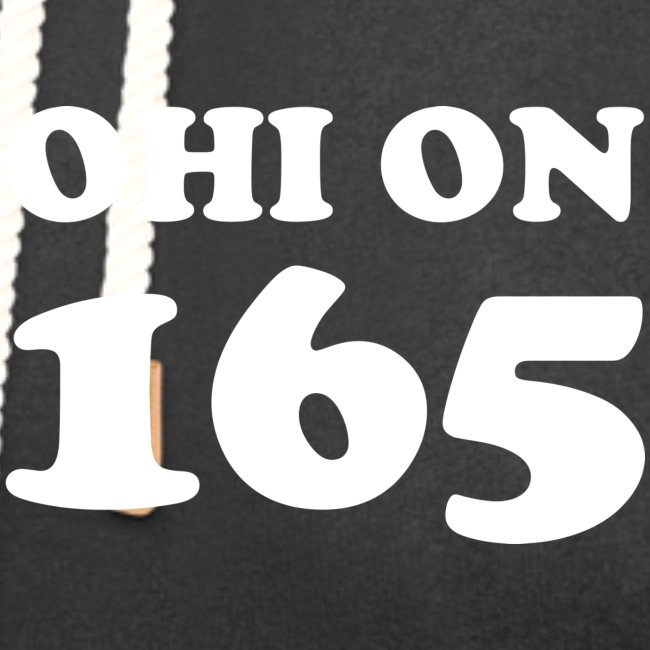#165000 Ohi on 165 valkoisella tekstillä