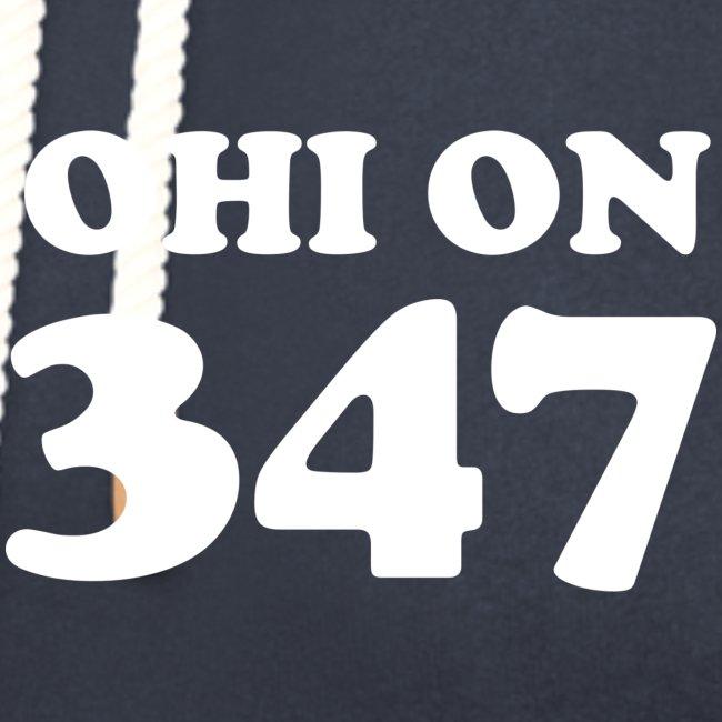#347000 Ohi on 347 valkoisella tekstillä