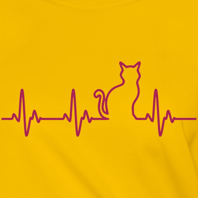 Vorschau: Ein Herz für Katzen - Frauen Knotenshirt