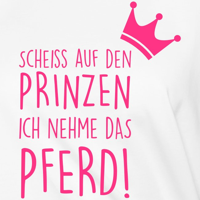 Vorschau: Prinz Pferd - Frauen Knotenshirt