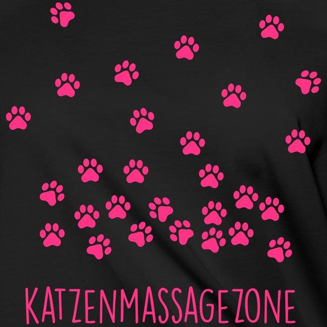 Vorschau: Katzen Massage Zone - Frauen Knotenshirt