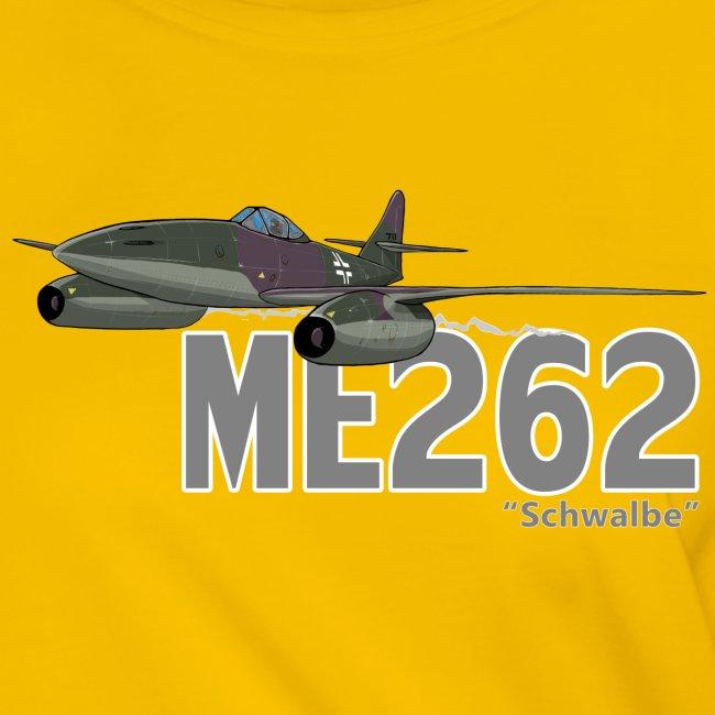 Me 262 Schwalbe (writing)