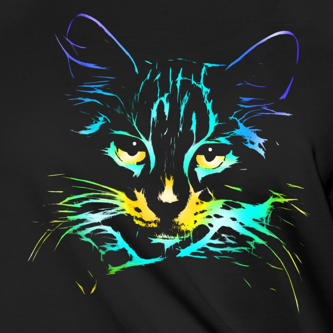 Vorschau: color kitty - Frauen Knotenshirt