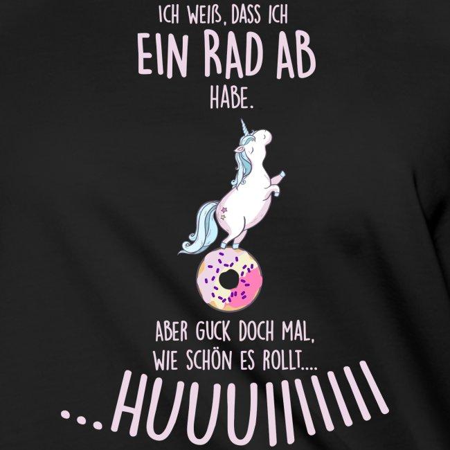 Vorschau: rad ab_einhorn - Frauen Knotenshirt