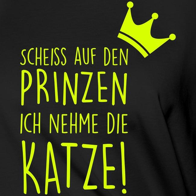 Vorschau: Scheiss auf den Prinzen - Frauen Knotenshirt