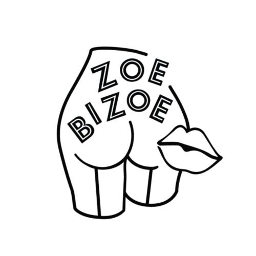 Zoe Bizoe logo - T-shirt à nœud Femme