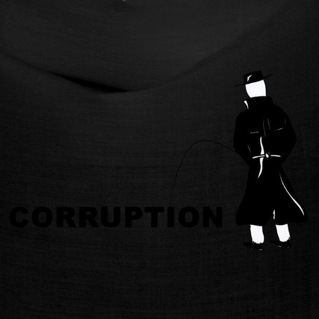 Pissing Man against Corruption