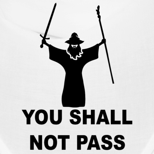You shall not pass Covid - 19 !