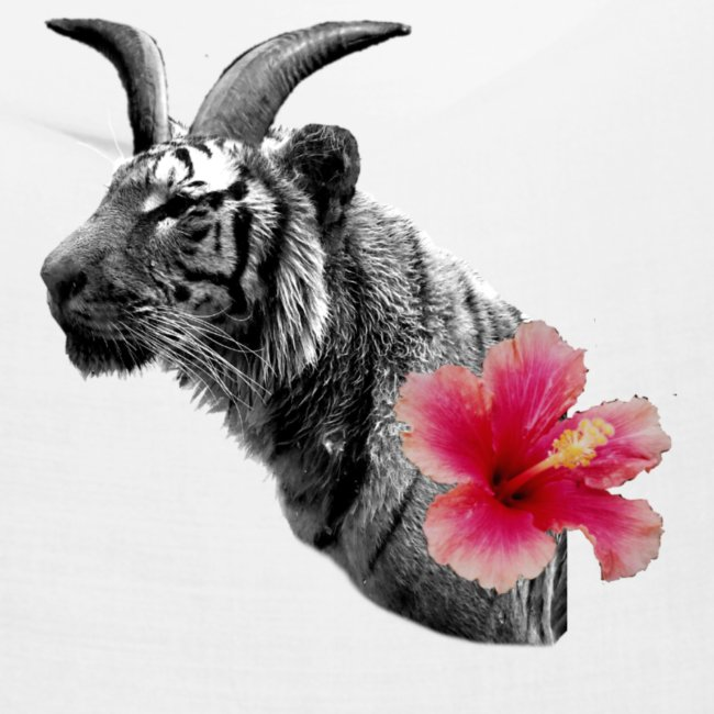 Horned Tiger Hibiscus graphic