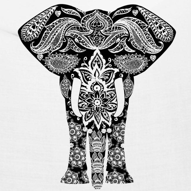 Ażurowy słoń