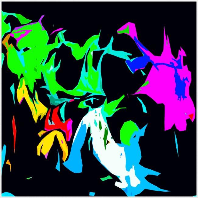 Ragnatele colorate
