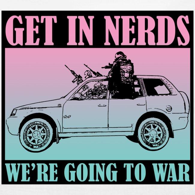Get in Nerds!
