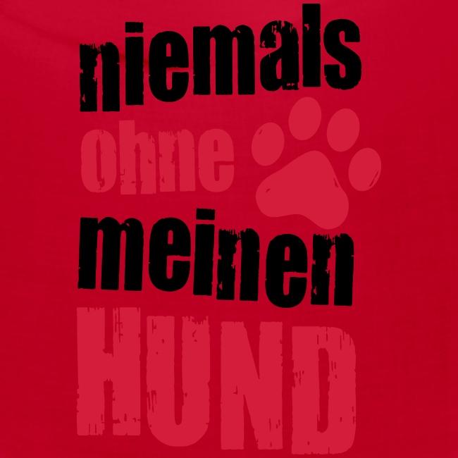 Vorschau: niemals ohne meinen hund - Bandana