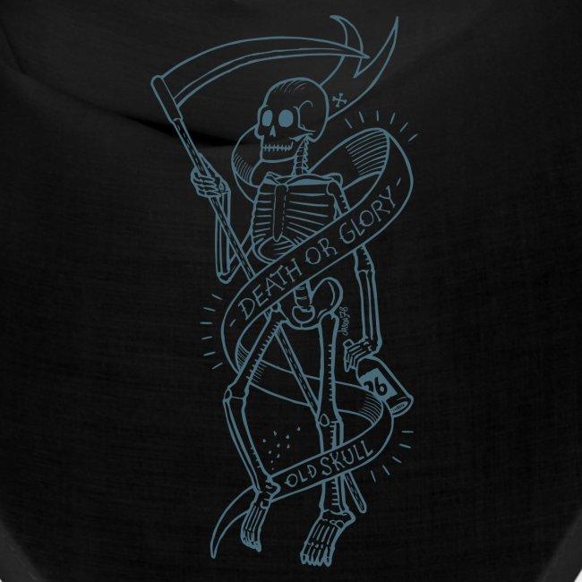 Old Skull blue