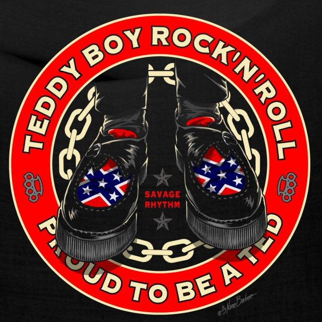 teddy boy crrepers unido rebel