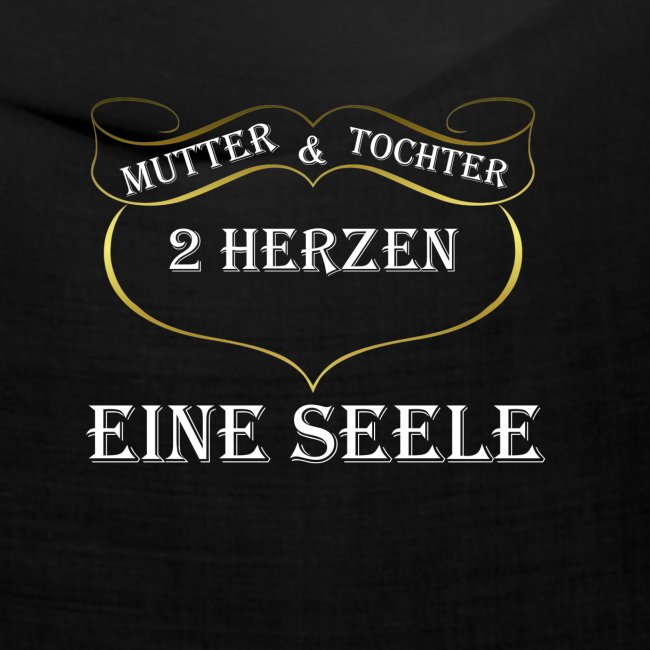 Mutter Tochter Spruch Geschenk Partner Geburtstag Bandana Deluxe Shirts