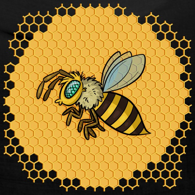 Hexagon Biene