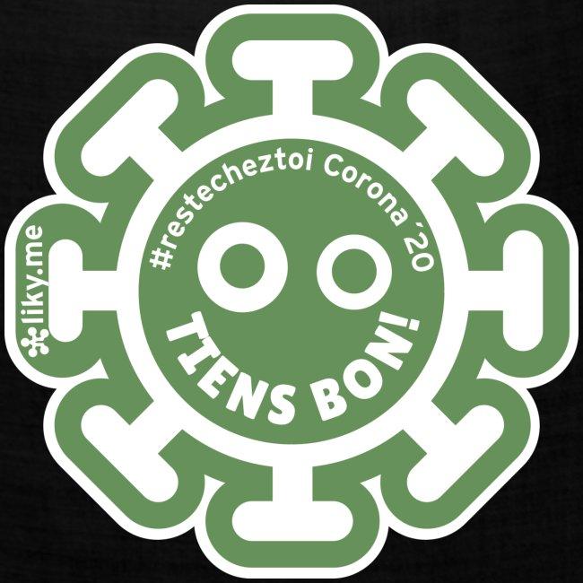 Corona Virus #restecheztoi vert