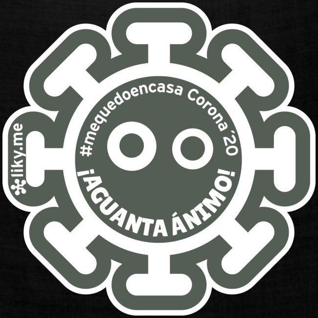 Corona Virus #mequedoencasa gris