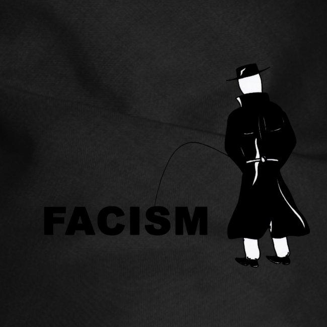 Pissing Man against Facism