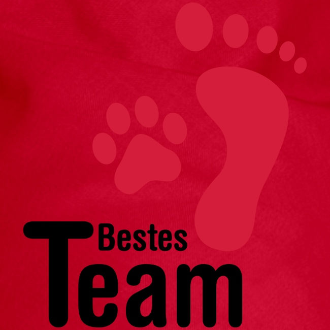 Vorschau: Bestes TEAM - Hunde-Bandana