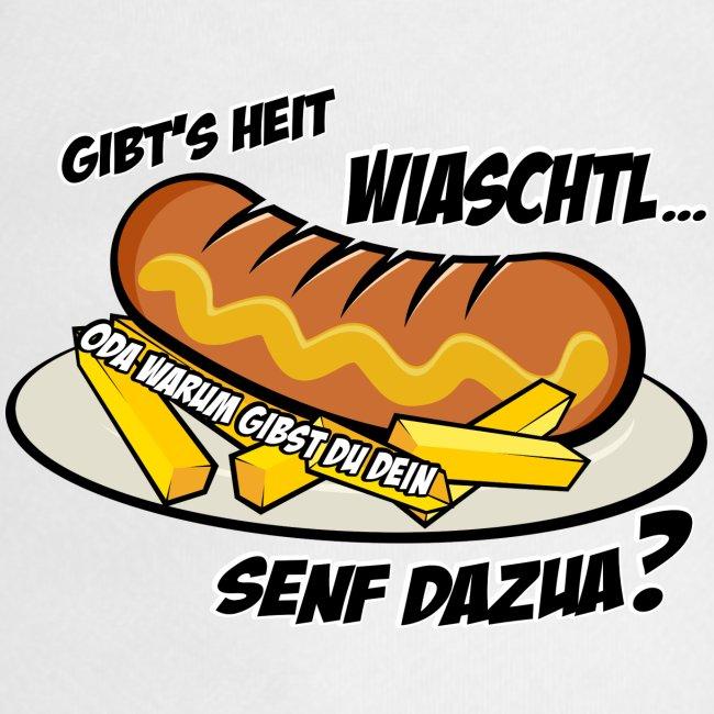 Vorschau: Wiaschtl mit Senf - Hunde-Bandana