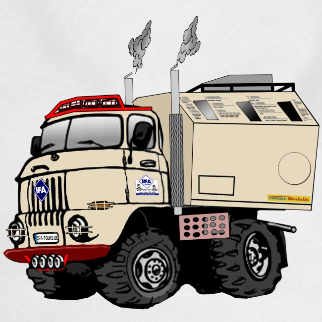 IFA W50 LAK Comic