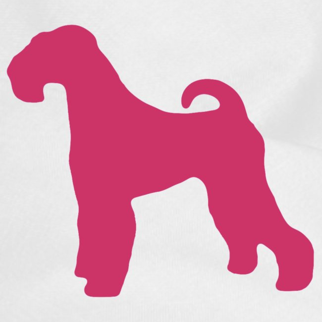 PINK Airedale Terrier