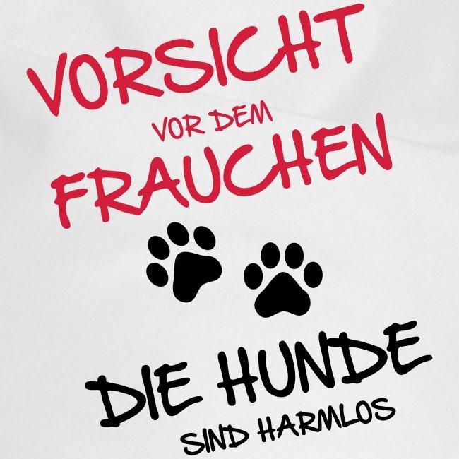 Vorschau: Vorsicht Frauchen - Hunde - Hunde-Bandana