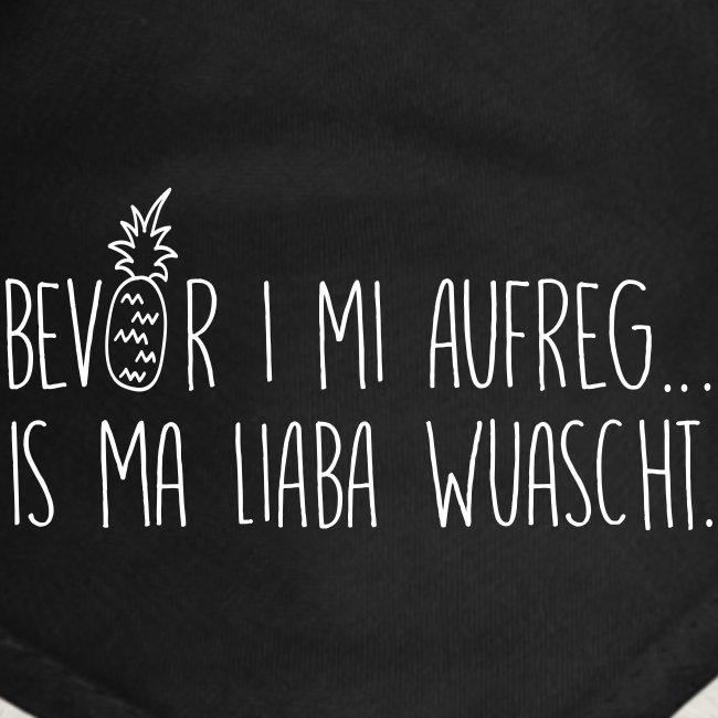Vorschau: Bevor i mi aufreg is ma liaba wuascht - Hunde-Bandana