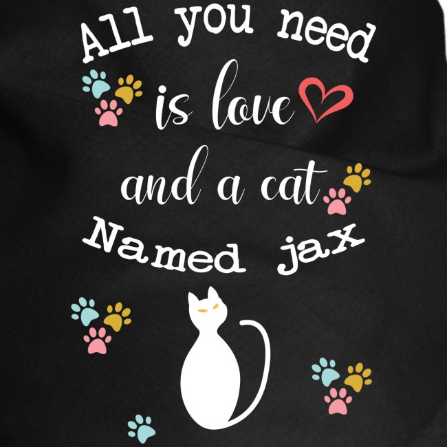 All you need is love and cat named Jax