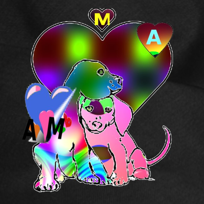 chien coeur AM