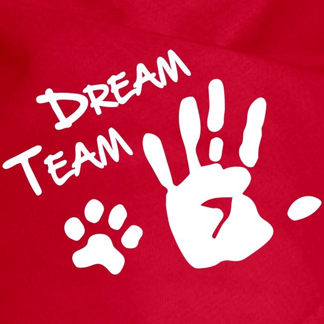 Vorschau: Dream Team Hand Hundpfote - Hunde-Bandana