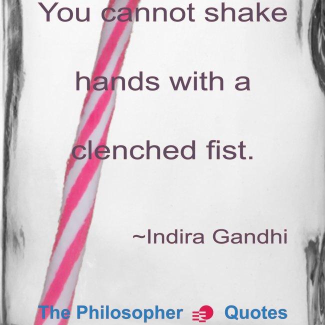 Indira Gandhi Shake hands b