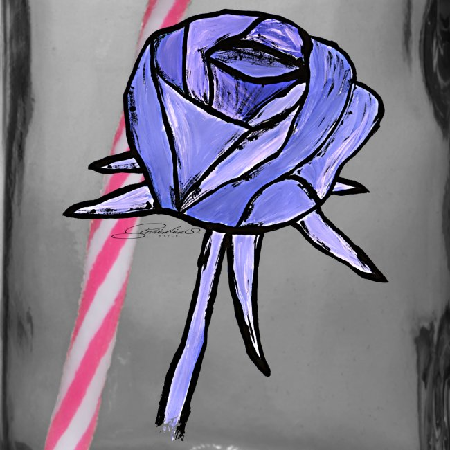 Rose sininen sixnineline style