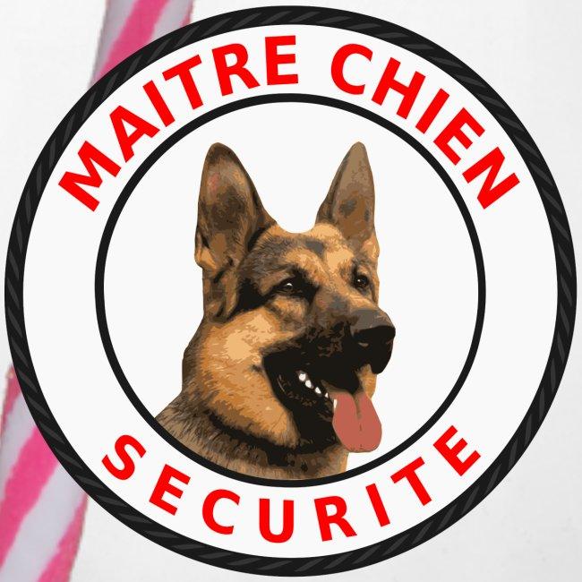 Ecusson rond Maitre-Chien Sécurité Berger allemand