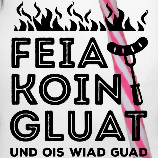 Vorschau: Feie Koin und Gluat - Henkelglas mit Schraubdeckel