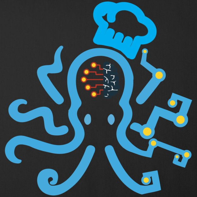 DT3 Octopus - Blue