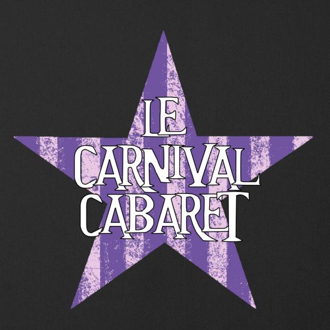 bonnet LCC noir etoie violette