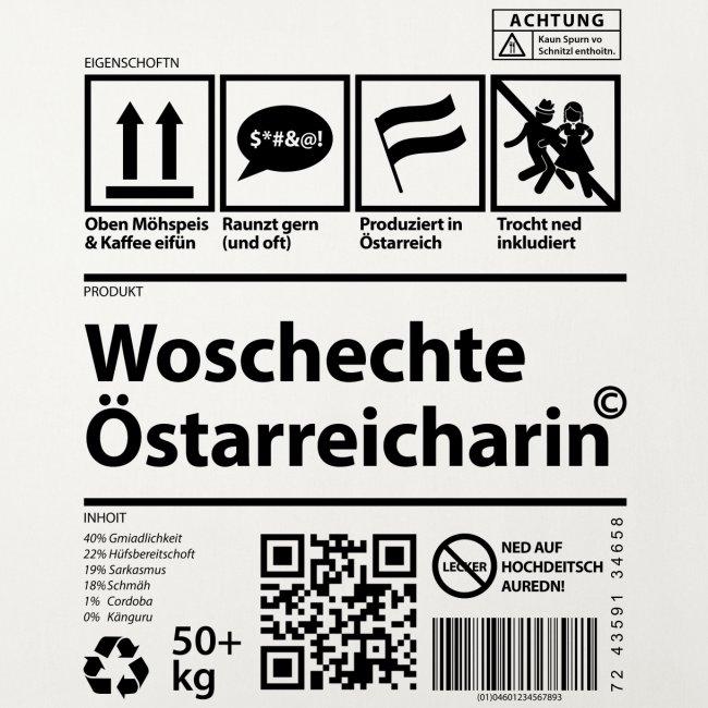 Vorschau: Woschechta Österreicha - Sofakissen mit Füllung 44 x 44 cm