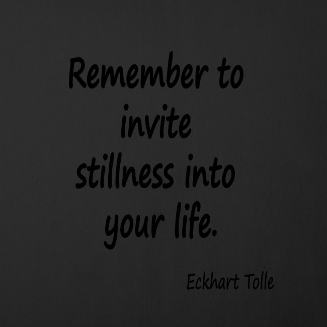 Invite Stillness