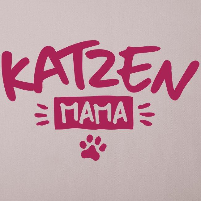 Vorschau: Katzen Mama - Sofakissen mit Füllung 44 x 44 cm