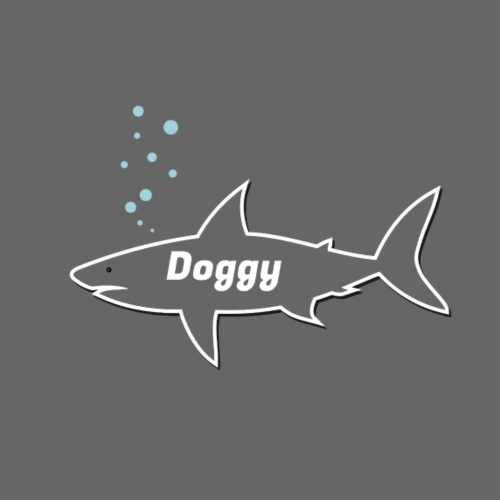 Doggy shark - Matching dog outfit for fathers day - Kochschürze