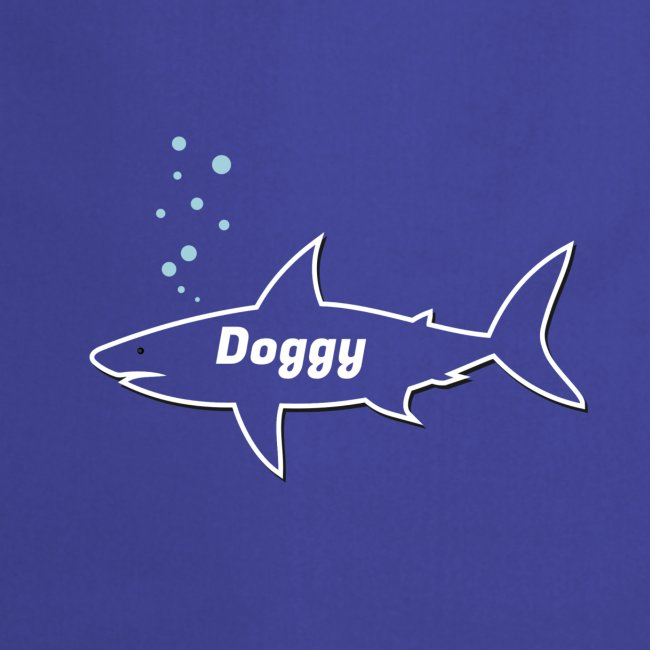 Doggy shark - Matching dog outfit for fathers day