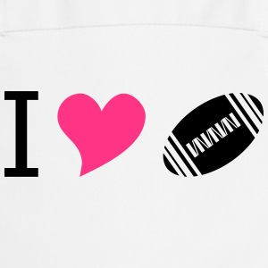 I love american football pink - Cooking Apron