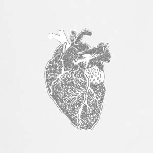 Coeur, X-ray, Zentangle - Tablier de cuisine