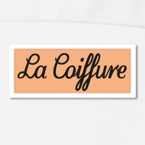 La Coiffure - Frenchy's Beauty School - Cooking Apron